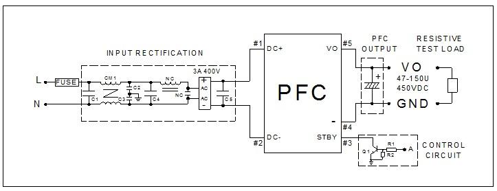 Power Factor Correction Control Module Tl330 Series Thai Lin